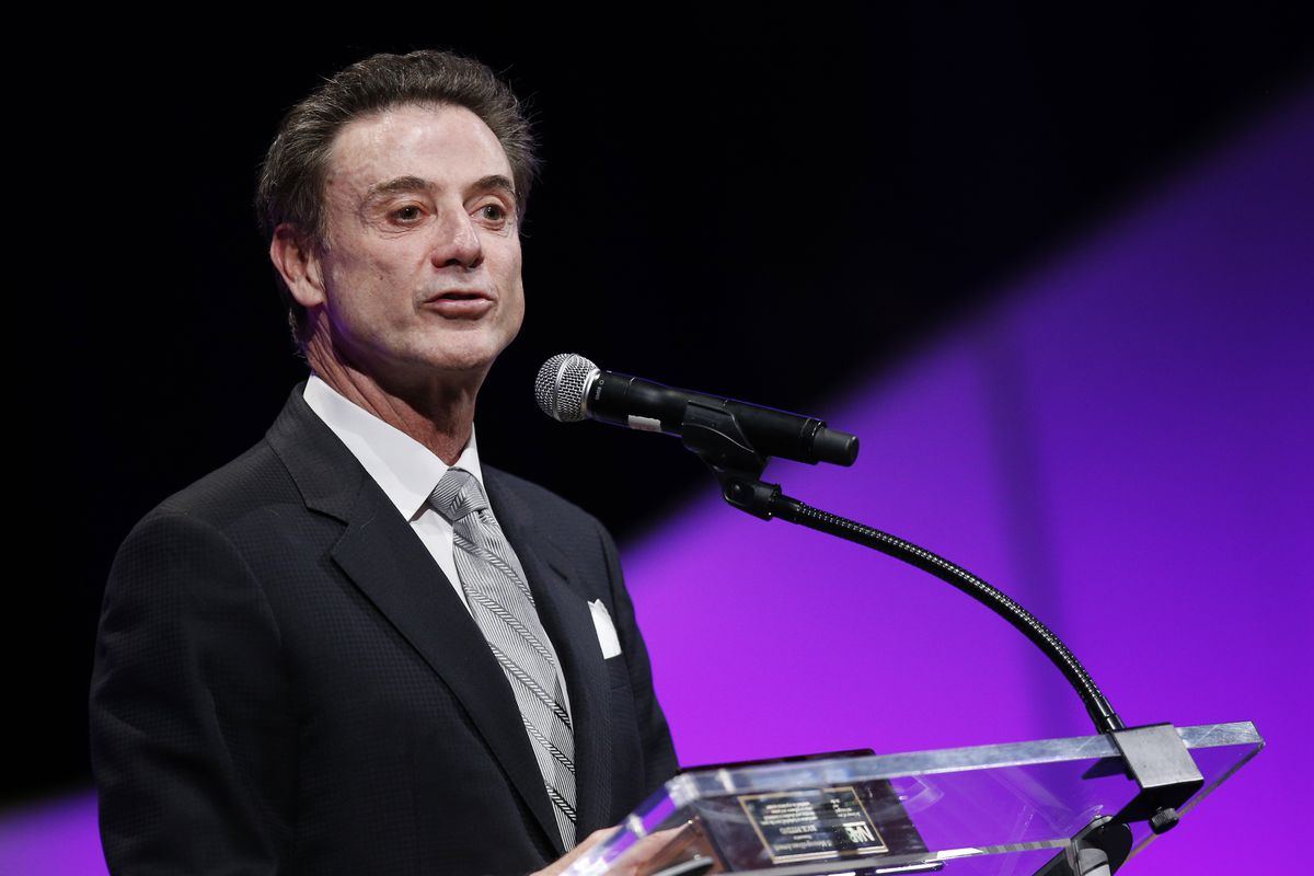 """A search for """"sources say"""" returned a picture of Rick Pitino. Makes sense."""