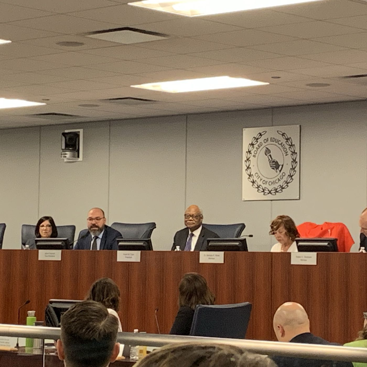 suntimes.com - Mitchell Armentrout - Chicago Board of Education members step down