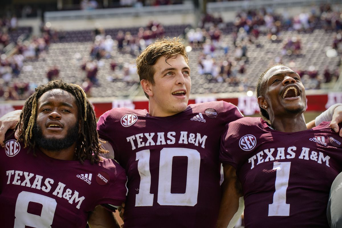 NCAA Football: New Mexico at Texas A&M