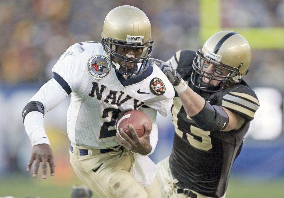 NCAA Football - Navy vs Army - December 3, 2005