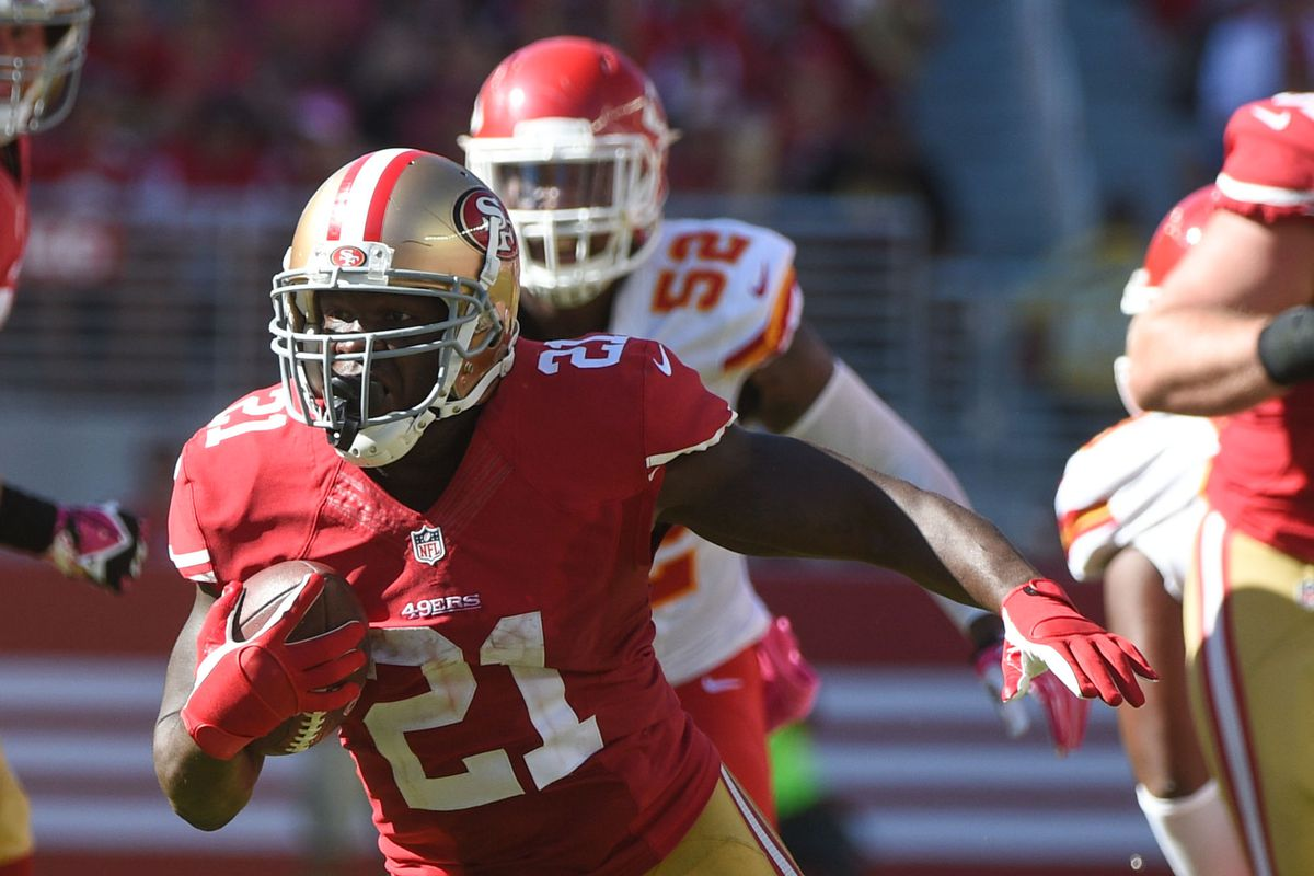 Watch Dee Ford run away from Frank Gore Niners Nation