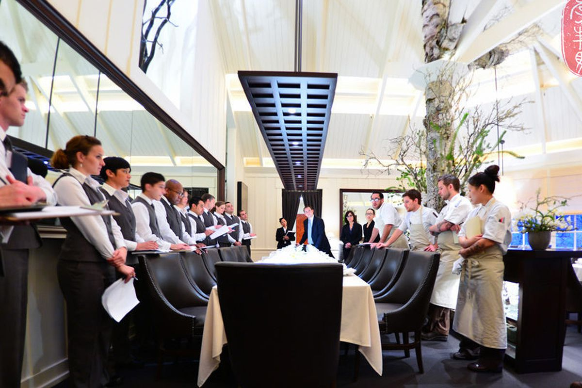 12 Days of Christmas at The Restaurant at Meadowood.