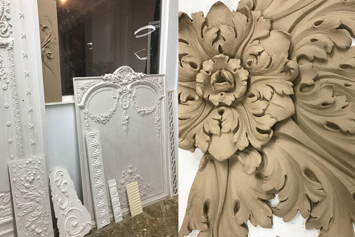 Antique plaster and how to restore it - Curbed