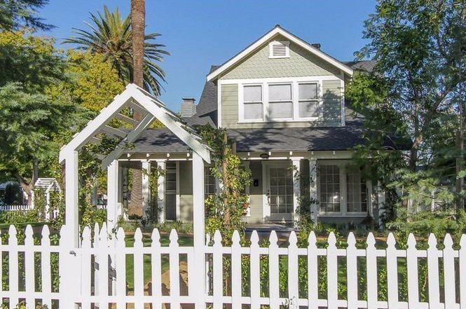 Pasadena house from front