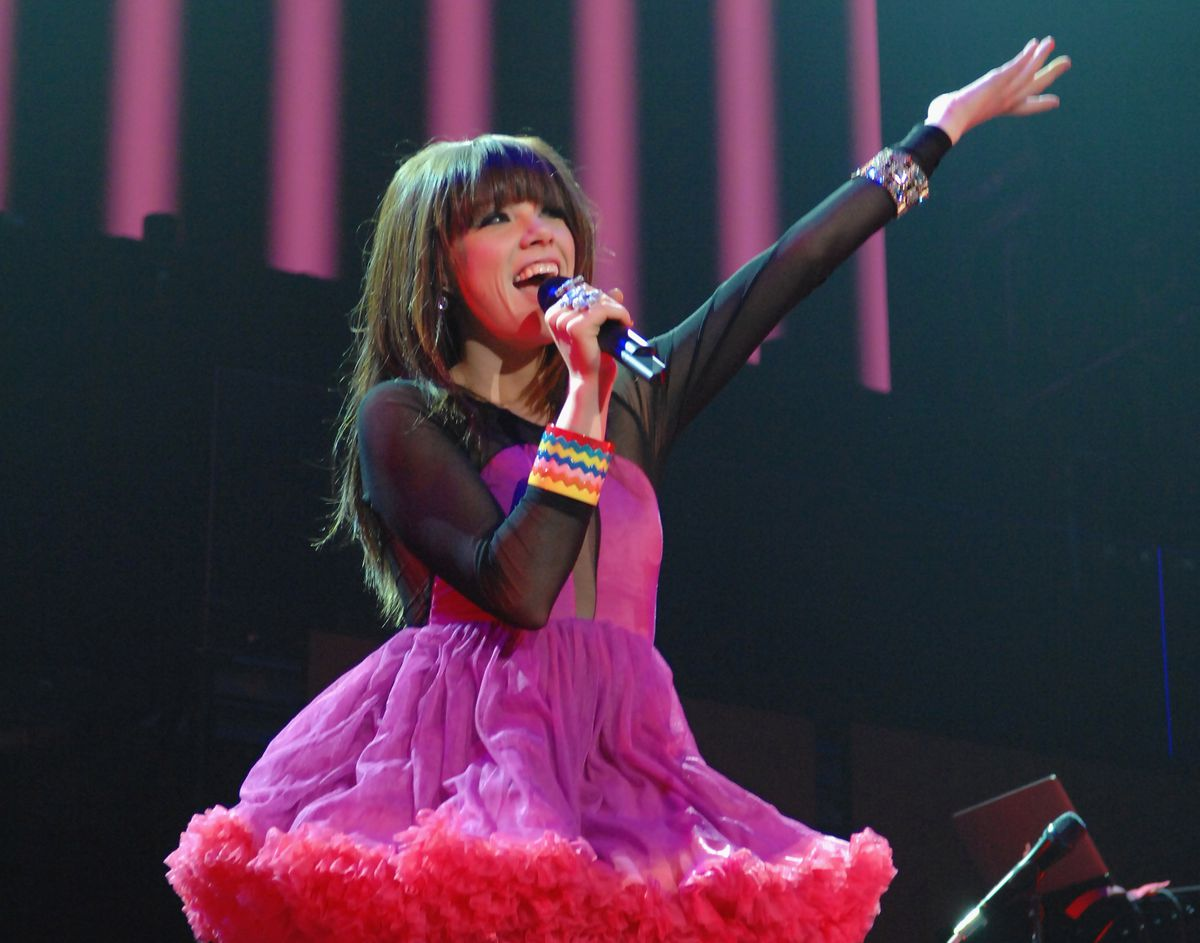 Justin Bieber And Carly Rae Jepsen Perform At The MGM Grand