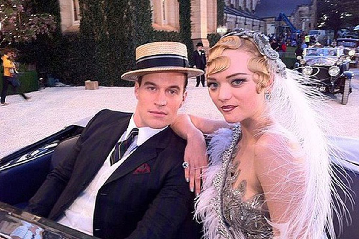 First Look Gemma Ward In The Great Gatsby Racked