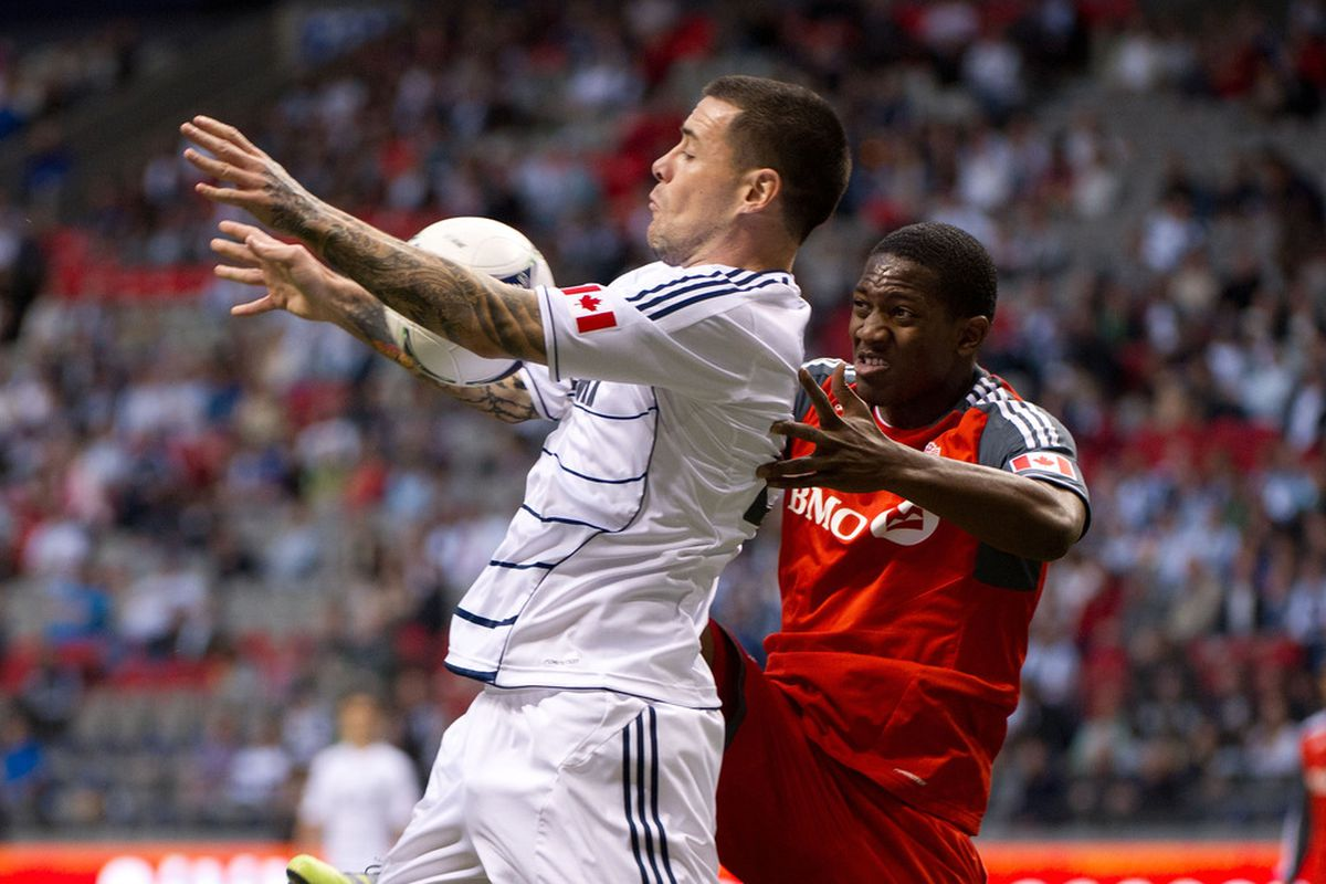Hassli v Henry.   Probably not a match up TFC will want to see too much of.