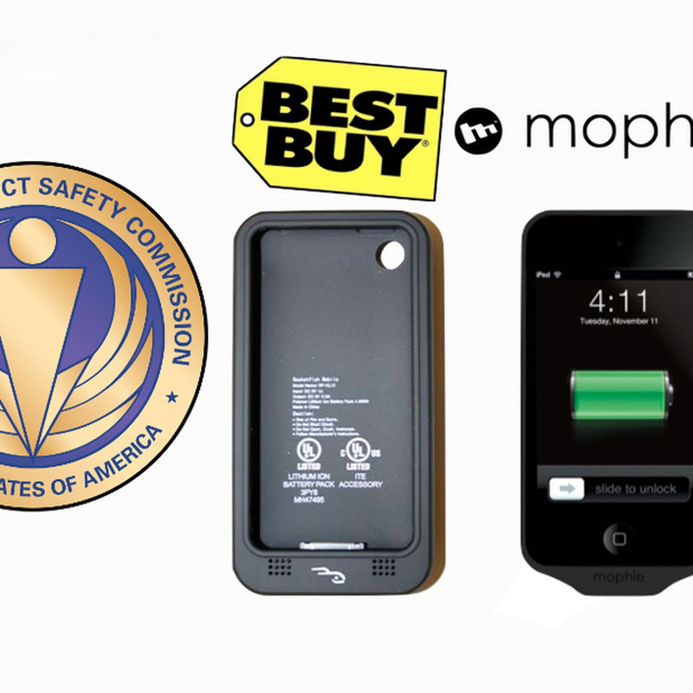 wholesale dealer 122c9 7f676 Best Buy, Mophie recall battery cases for iPhone, iPod touch over ...