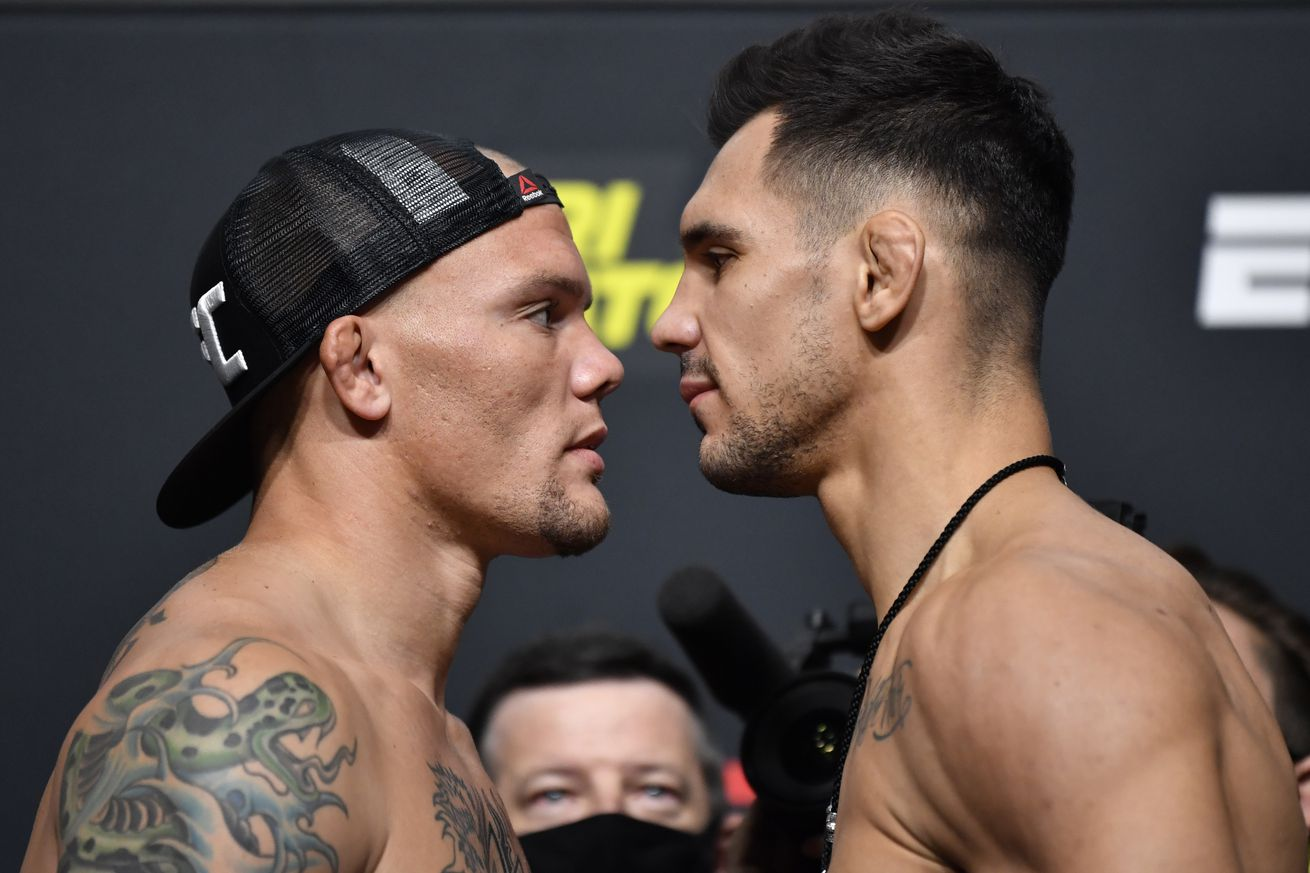 UFC Fight Night Smith v Rakic: Weigh-Ins