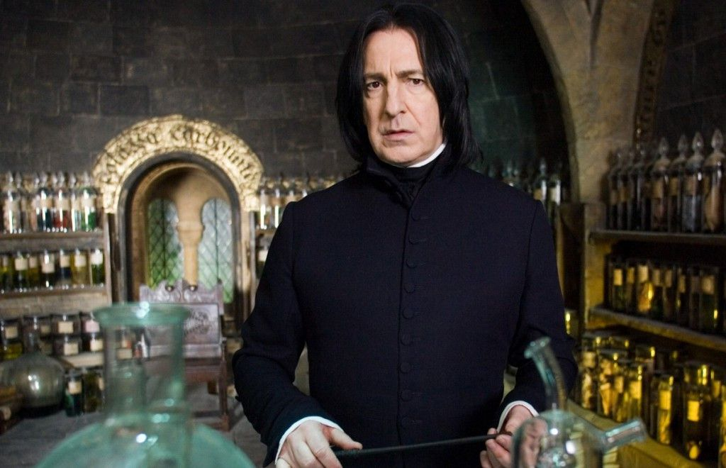 """Alan Rickman, pictured as Severus Snape in """"Harry Potter and the Order of the Phoenix."""" 
