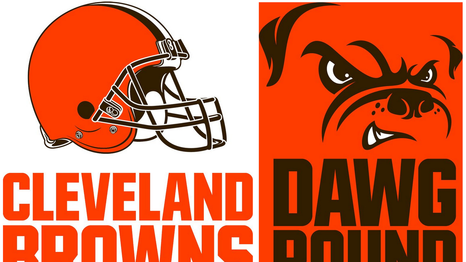 cleveland browns new logos include an updated helmet