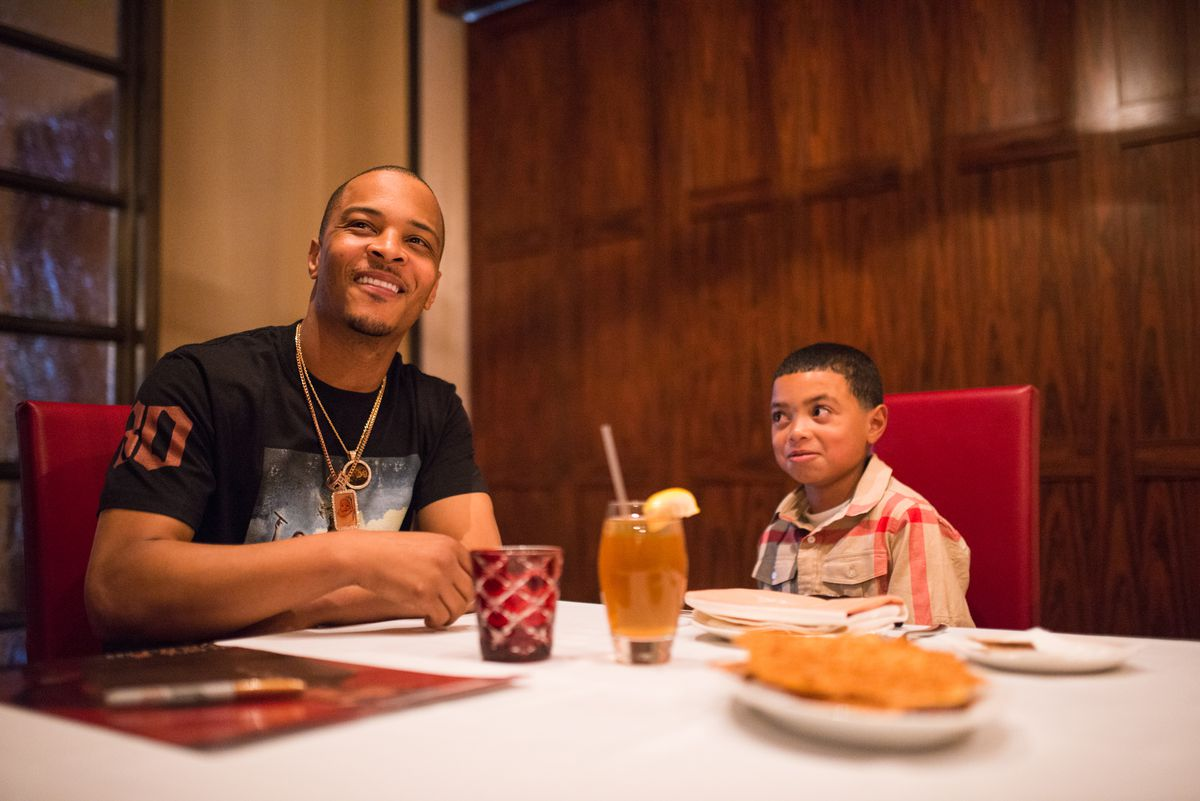 T.I. and Make-A-Wish Foundation recipient Mark