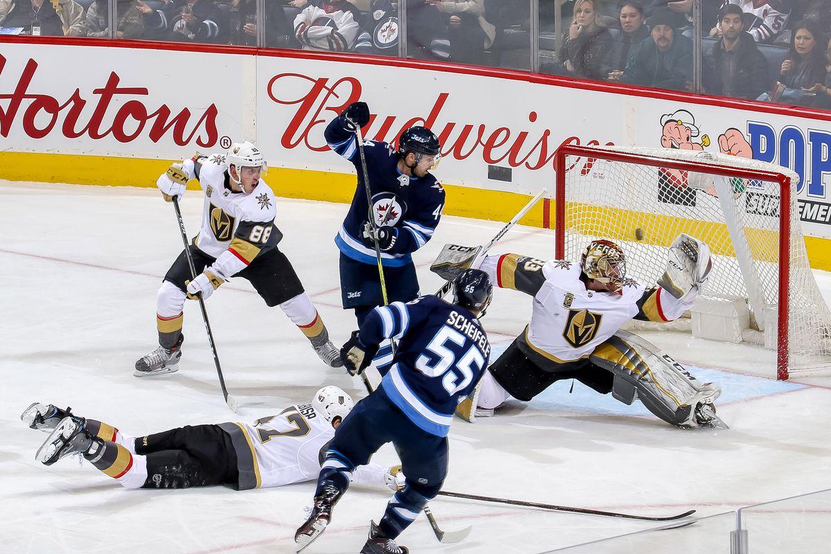 b1bad41af GDT  Winnipeg Jets vs Vegas Golden Knights - Arctic Ice Hockey