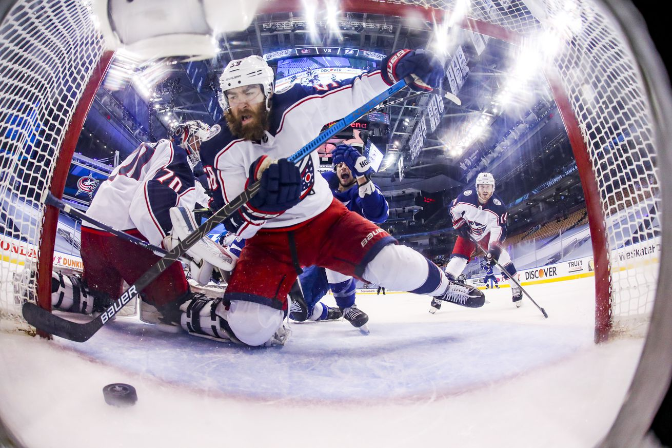 Columbus Blue Jackets v Tampa Bay Lightning - Game Five