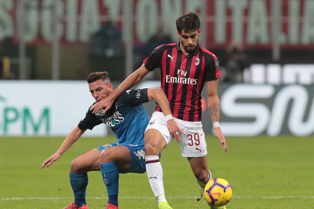 Rossoneri Round-Up for 21 Sept: Bennacer and Paqueta Left Off the Starting Line-Up For Milan - Inter
