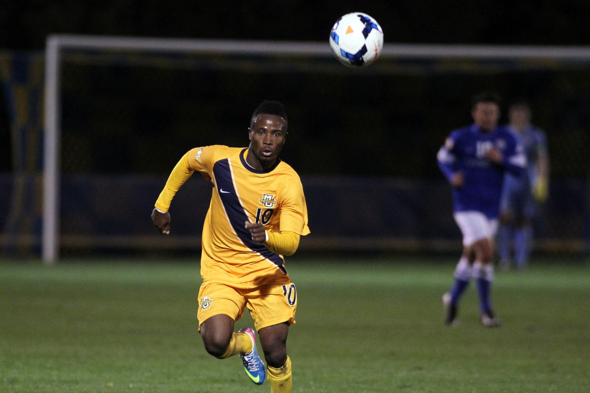 C. Nortey and Marquette have the sixth and final slot in the Big East tournament.