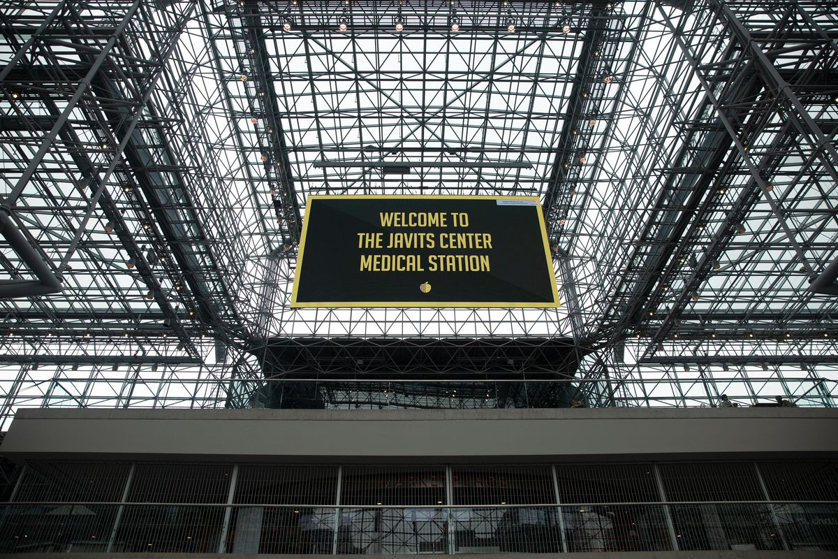 The Javits Center was turned into a medical center during the coronavirus outbreak.