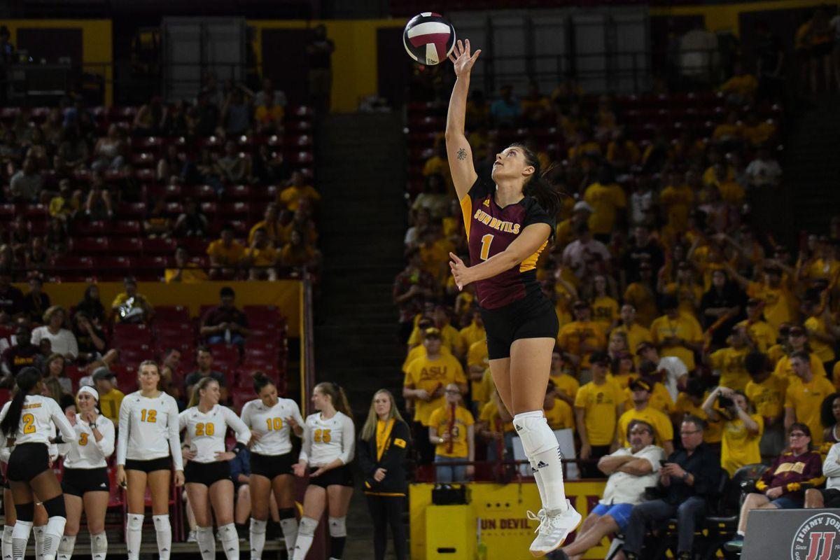 ASU Volleyball: No. 10 Washington knocks off Sun Devils