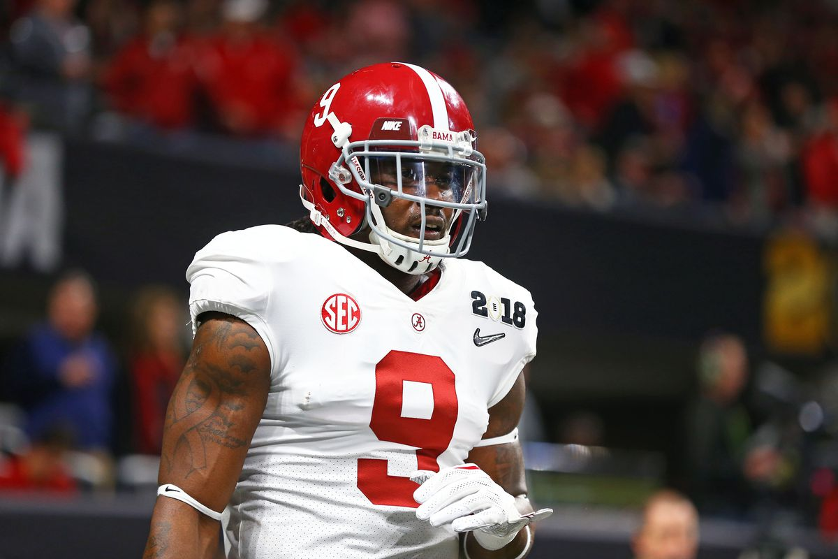 a7abdad23 Cowboys 2018 draft  Film review of seventh-round pick Bo Scarbrough ...