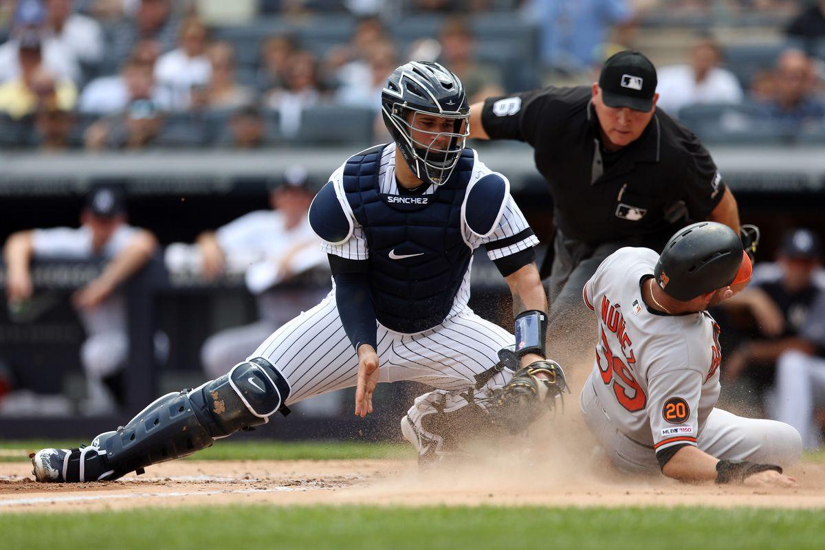 Baltimore Orioles v. New York Yankees