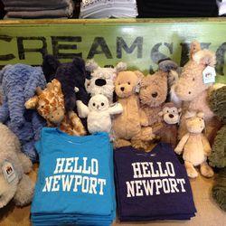 Dilascia Hello Newport kids tees, $28
