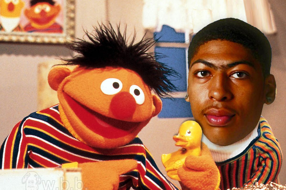 Do you think Anthony Davis collects bottlecaps?