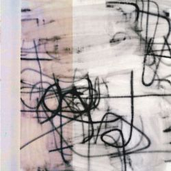 a Christopher Wool print
