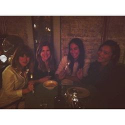"""Yay, dinner with the girls.<a href=""""http://wokinggirldesigns.myshopify.com/"""">Helen</a>,<a href=""""http://odetteny.com/"""">Jennifer</a>, Lisa and I are trying the new restaurantGlasseriein Greenpoint. I sort of don't leave my neighborhood. I love it here!"""
