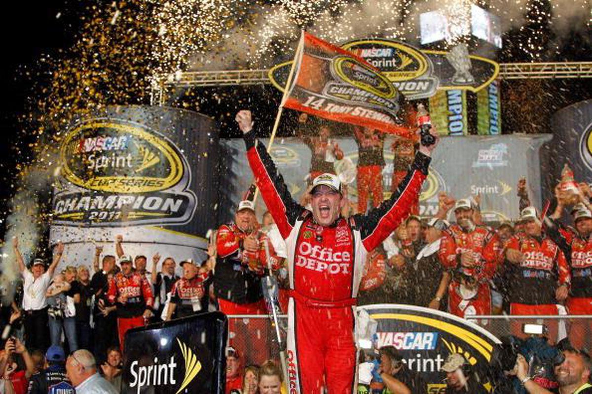 Tony Stewart, 2011 NASCAR Sprint Cup champion