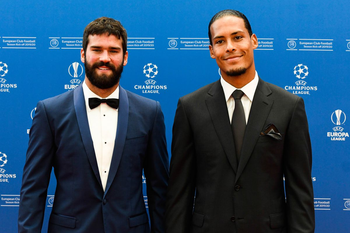 Klopp Van Dijk And Alisson Finalists For Fifa Best Of The Year Award The Liverpool Offside