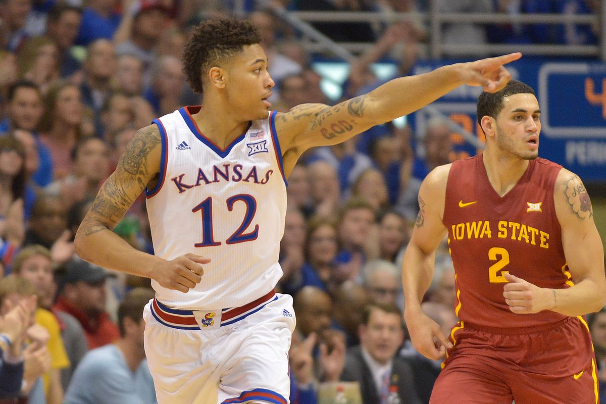 Kelly Oubre and the Jayhawks might be the best team playing today that's not in the Big East.
