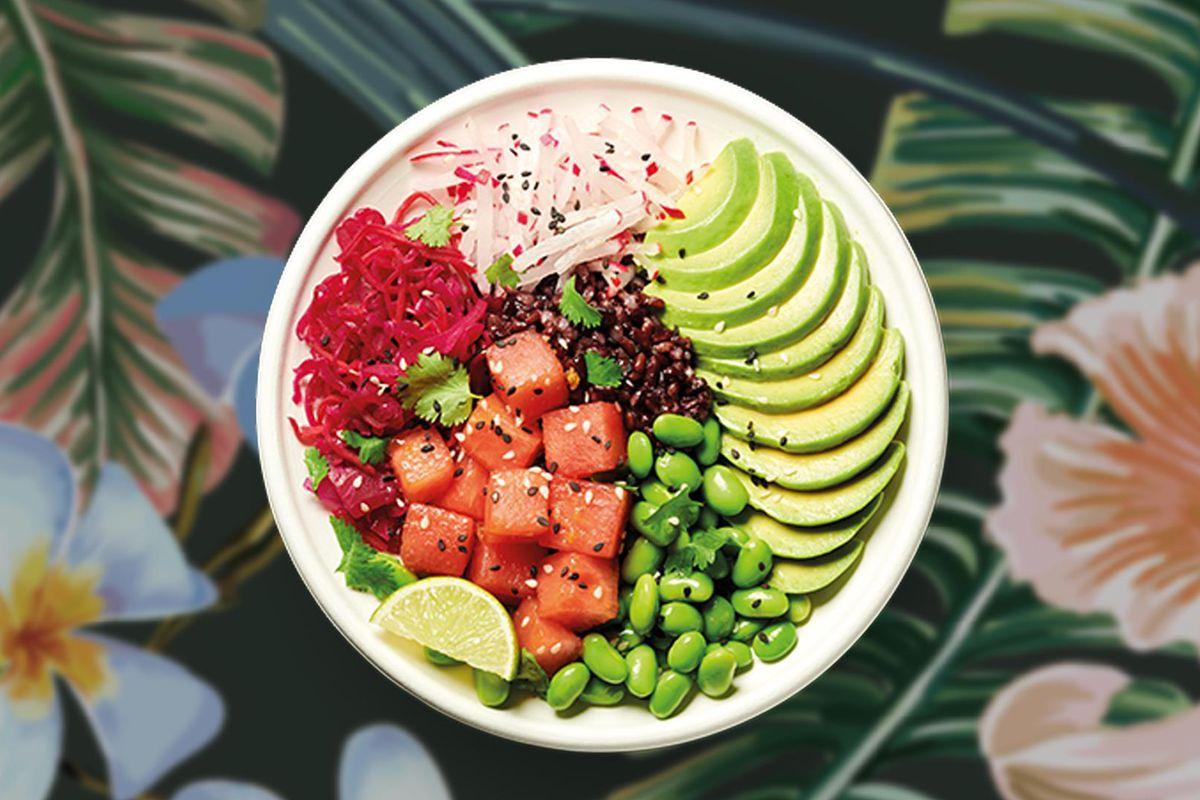 Pret a Manger's vegan menu now includes these Buddha bowls and poke