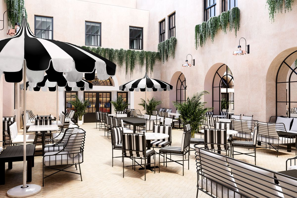 Outdoor Mediterranean Restaurant Debuts Downtown This May