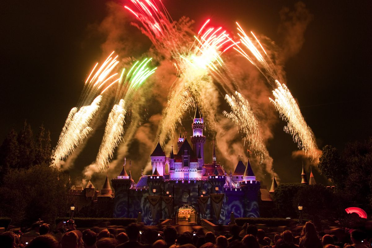 No matter what time of year, no visit to the Disneyland Resort is complete without seeing fireworks bursting high above Sleeping Beauty Castle. Disneyland could allow more people if it changes risk status in the next few weeks
