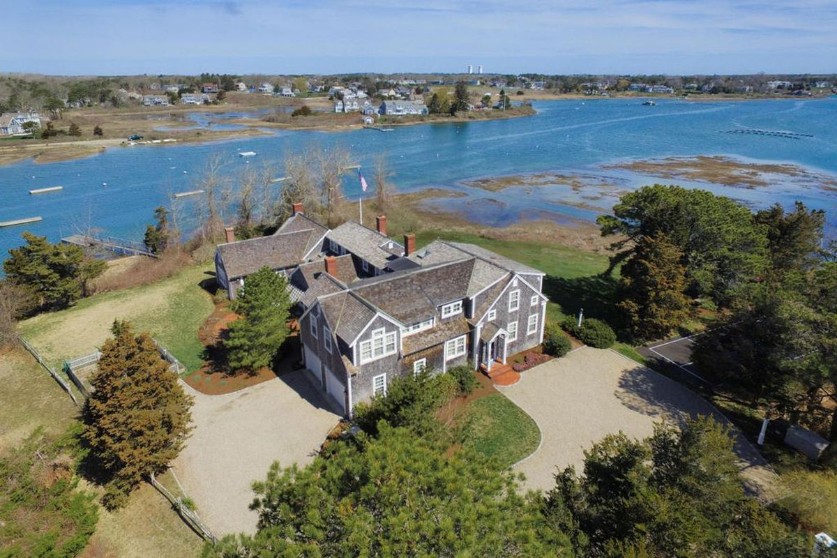 3 historic waterfront houses for sale right now curbed for Cape cod waterfront homes for sale