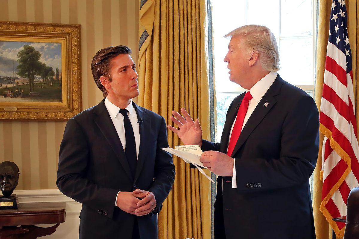 "ABC World News Tonight: ""President Trump: The First Interview"""