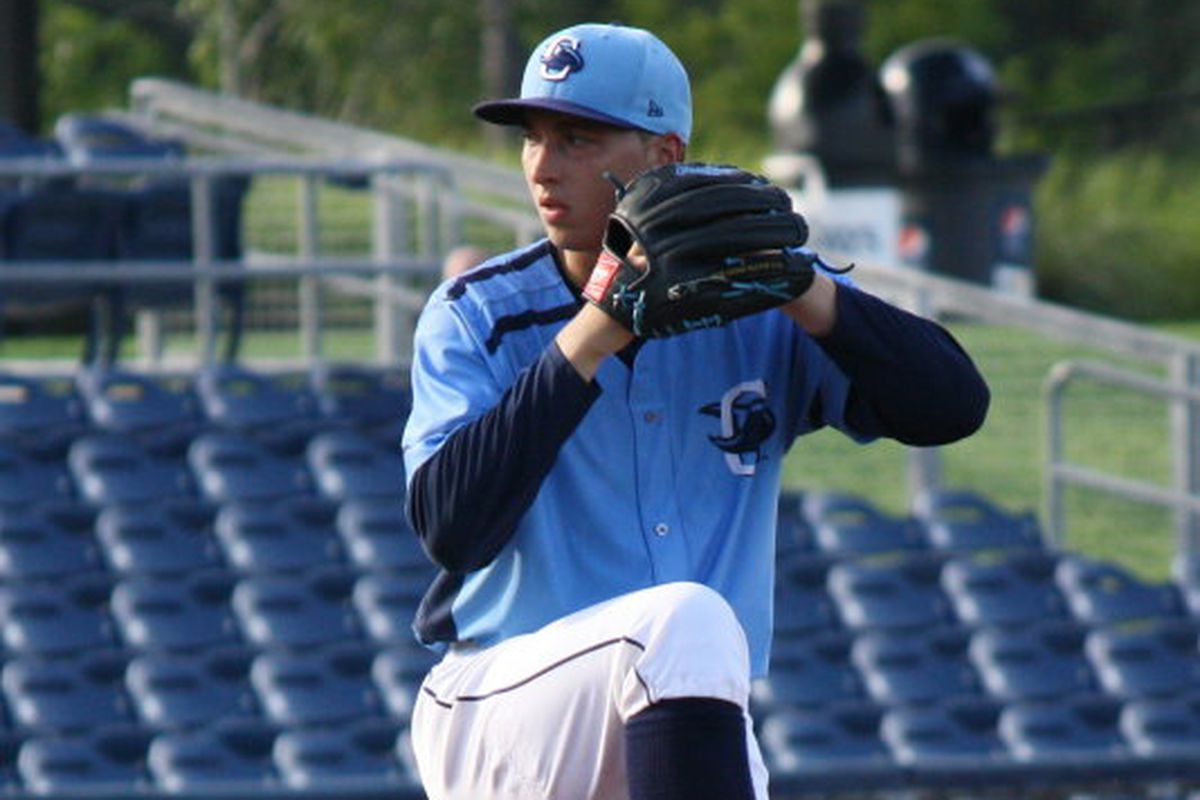 Blake Snell seems likely to win the ERA title in the minors this season