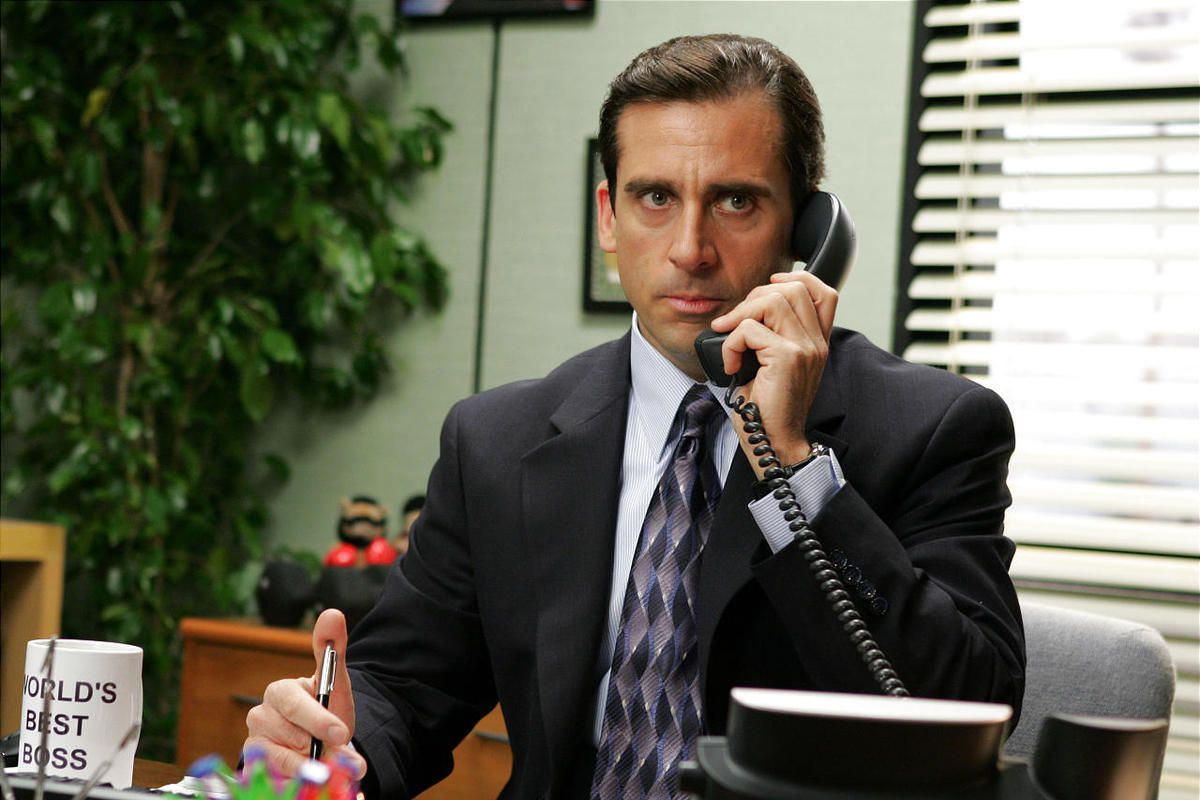 """Steve Carell in a scene from NBC's comedy """"The Office."""""""
