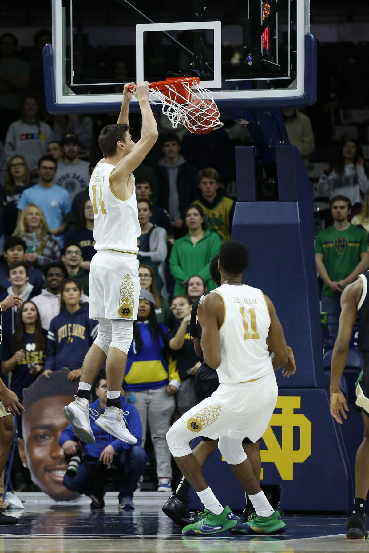 COLLEGE BASKETBALL: JAN 22 Syracuse at Notre Dame