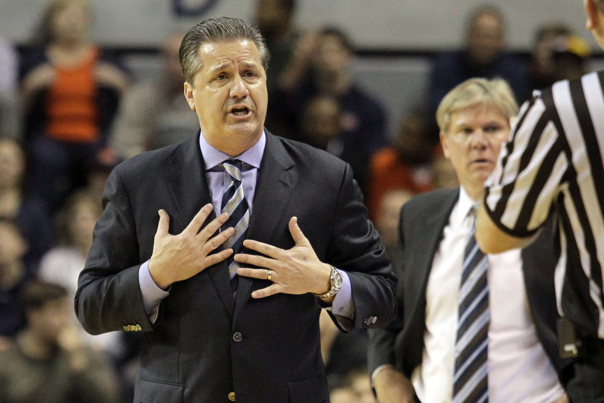 John Calipari doesn't know how to respond to pity.
