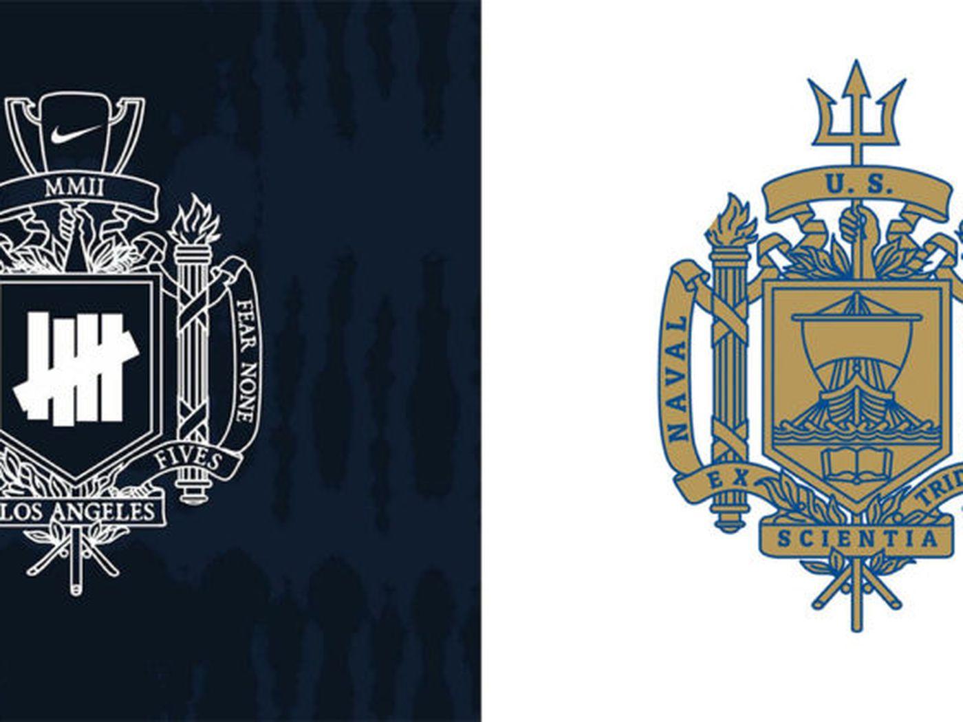 Navy accuses Nike of trademark infringement over new crest logo -  SBNation.com 002841fef36