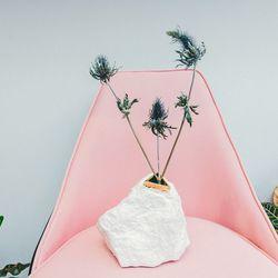 """Wyatt Little rock vase, <a href=""""http://www.comingsoonnewyork.com/comingsoon/wyatt-little-rock-vase"""">$150</a>"""