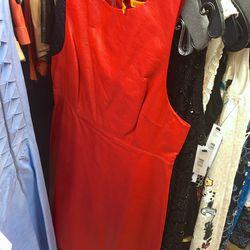 Sample leather dress, $99