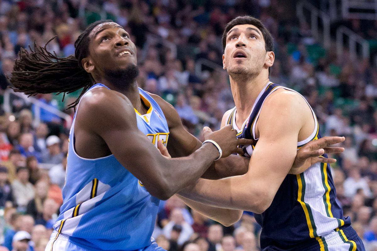 Kenneth Faried and Enes Kanter