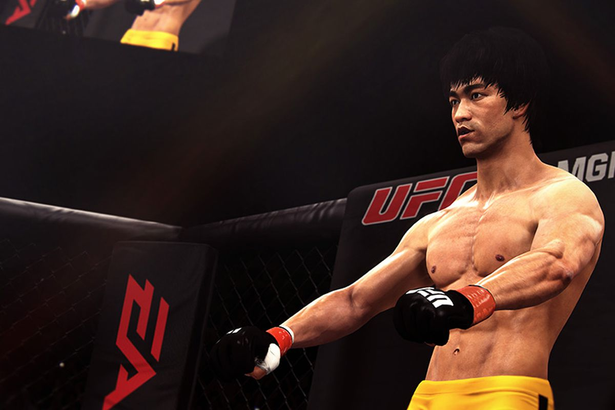 What Is Bruce Lee Doing In A Ufc Video Game Polygon