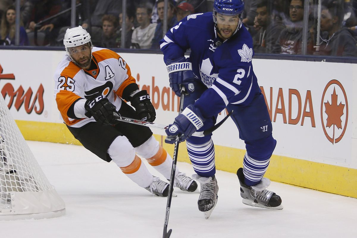 The Maple Leafs and Flyers kick off the action tonight at 6:30.