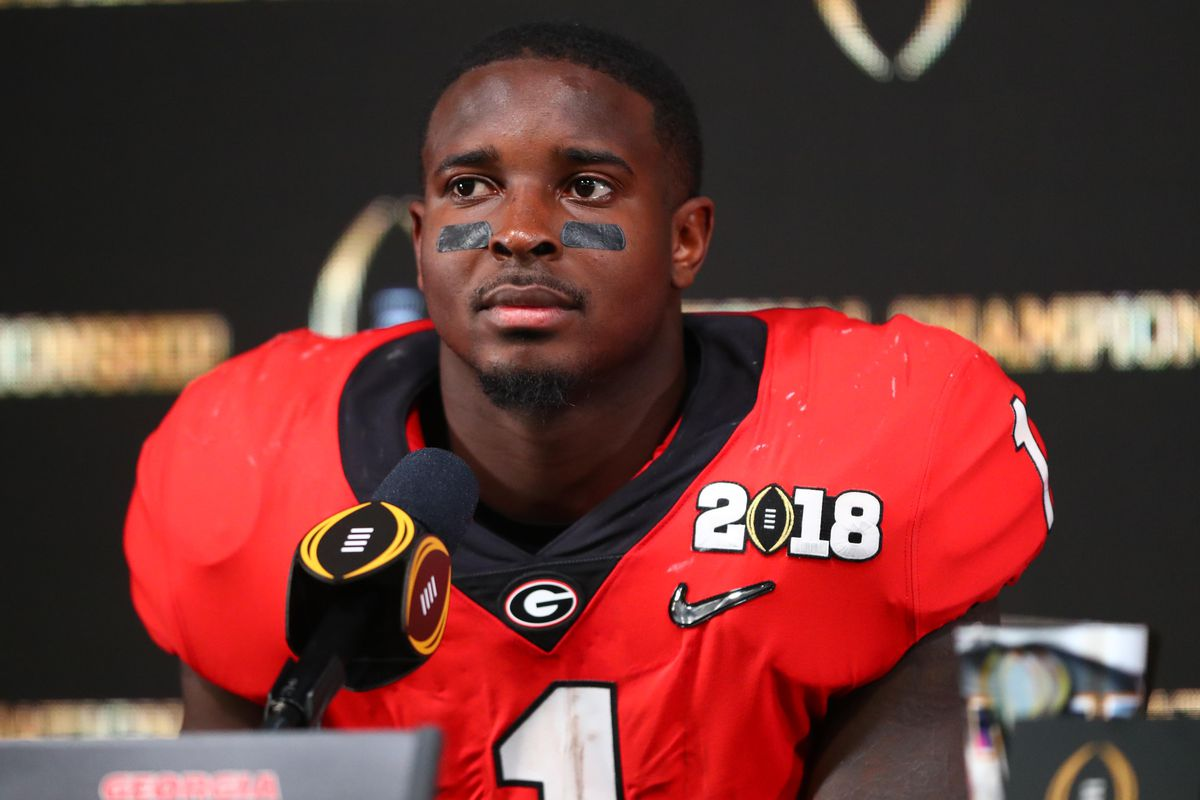 100% authentic bd103 9b928 Sony Michel Injury: NFL teams concerned about running back's ...