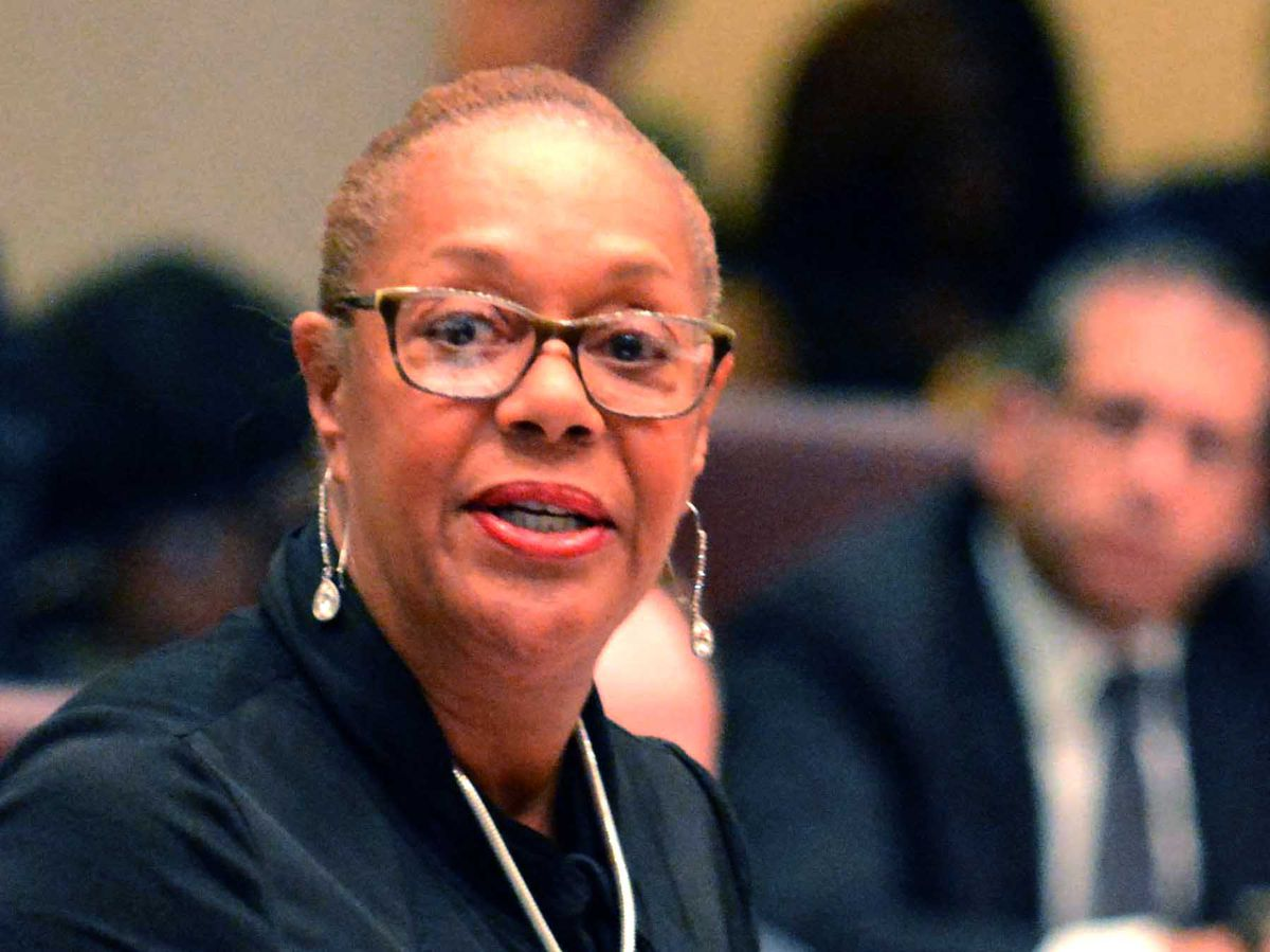 Ald. Leslie Hairston (5th) read aloud a list of shooting surges, ward by ward, to underscore her demand that the mayor's promise to do more about violence was not good enough. | Sun-Times file photo