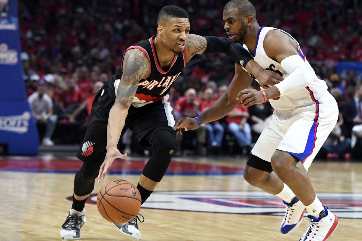 NBA: Playoffs-Portland Trail Blazers at Los Angeles Clippers