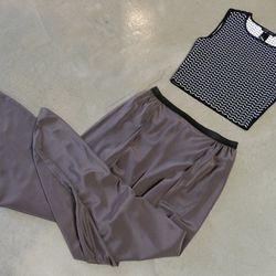 Ohne Titel top, $295; Alasdair pants, $395
